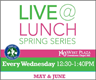 LiveAtLunch Events