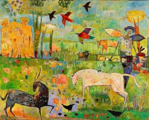 AlamancePasturePainting 300x242 The Fantastic Jane Filer