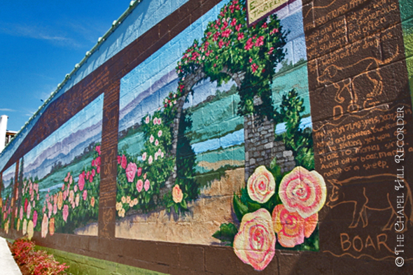 Roses Mural Walking Tour
