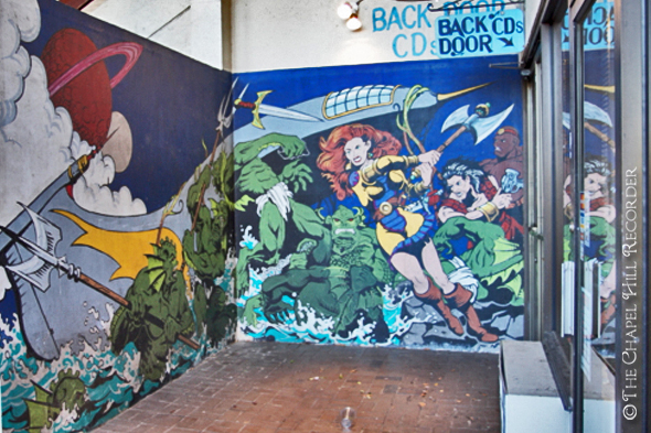 SuperHeros Mural Walking Tour