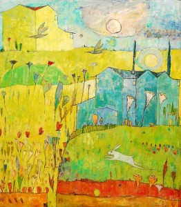 HousesintheSun1 262x300 The Paintings of Jane Filer
