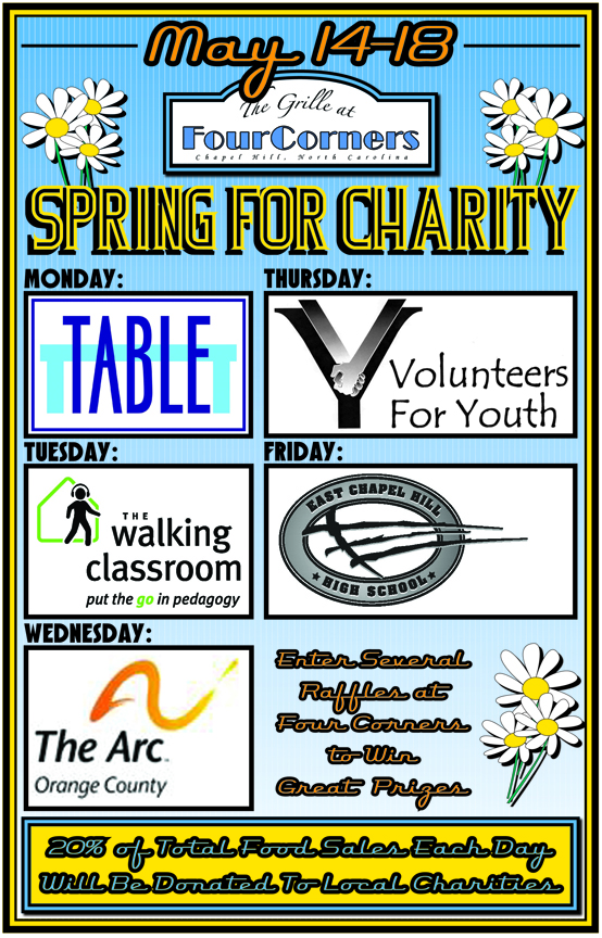 SpringForCharityPoster Spring for Charity
