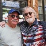 Doug Guild with 4th of July Host Extraordinaire Ron Stutts